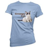 Grumpy Cat Womens T-Shirt