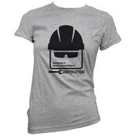 Emmet Brickowski Construction Womens T-Shirt
