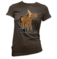 Uni Oops Womens T-Shirt