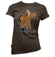 Uni Oops Womens T-Shirt