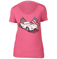 Anglo American Womens Scoop Neck T-Shirt