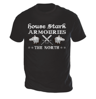 House Stark Armouries Mens T-Shirt