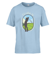 I'd Rather Be Golfing Kids T-Shirt