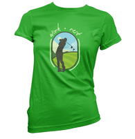Work Rest Golf Womens T-Shirt