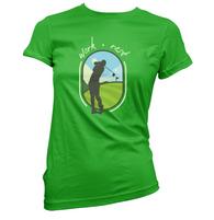 Work Rest Golf Womens T-Shirt