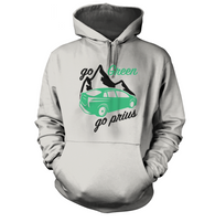 Go Green Go Prius Hoodie