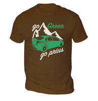 Go Green Go Prius Mens T-Shirt