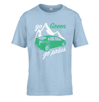 Go Green Go Prius Kids T-Shirt
