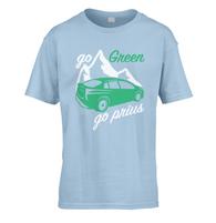 Go Green Go Prius Kids T-Shirt