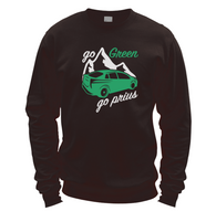 Go Green Go Prius Sweater