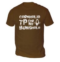 Cornholio TP Mens T-Shirt