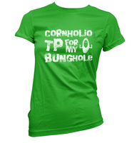 Cornholio TP Womens T-Shirt
