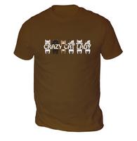 Crazy Cat Lady Mens T-Shirt