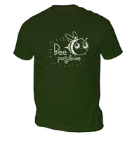 Bee Positive Mens T-Shirt