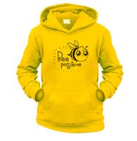 Bee Positive Kids Hoodie
