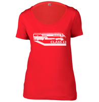 Class 43 Womens Scoop Neck T-Shirt