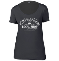 Local Shop Womens Scoop Neck T-Shirt