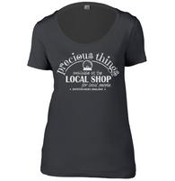 Local Shop Womens Scoop Neck T-Shirt