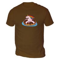 Lazy Unicorn Mens T-Shirt