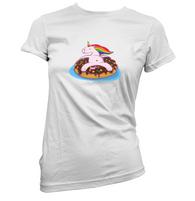 Lazy Unicorn Womens T-Shirt
