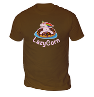 LazyCorn Mens T-Shirt
