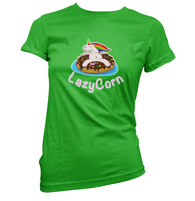 LazyCorn Womens T-Shirt