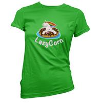 LazyCorn Womens T-Shirt