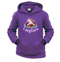 LazyCorn Kids Hoodie