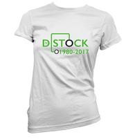 D Stock Womens T-Shirt