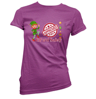 Elf and Safety Womens T-Shirt