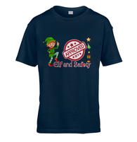Elf and Safety Kids T-Shirt