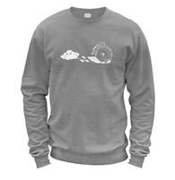 Burnout Clouds Sweater