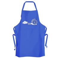 Burnout Clouds Apron