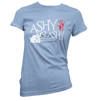 Ashy Slashy Womens T-Shirt