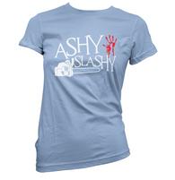 Ashy Slashy Womens T-Shirt