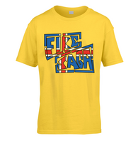 Iceland Fire Saga Kids T-Shirt