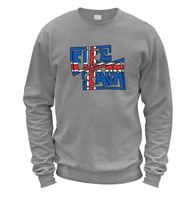 Iceland Fire Saga Sweater