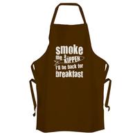 Smoke Me a Kipper Apron