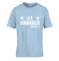Number 1 FPL Manager Kids T-Shirt