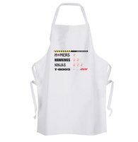 Zombie Ratings Apron