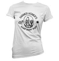 Farmer Homers Sugar Womens T-Shirt