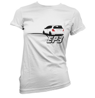Rear Ended EP3 Womens T-Shirt