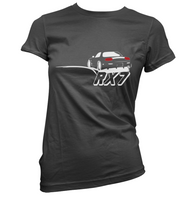 Rear Ended RX7 Womens T-Shirt