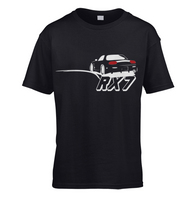 Rear Ended RX7 Kids T-Shirt