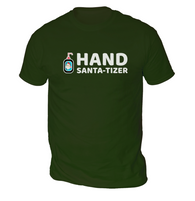 Hand Santa-Tizer Mens T-Shirt