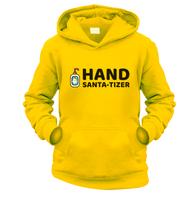 Hand Santa-Tizer Kids Hoodie