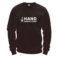 Hand Santa-Tizer Sweater