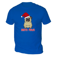 Santa Paws Mens T-Shirt