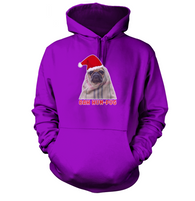 Bah Hum Pug Hoodie