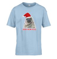 Bah Hum Pug Kids T-Shirt
